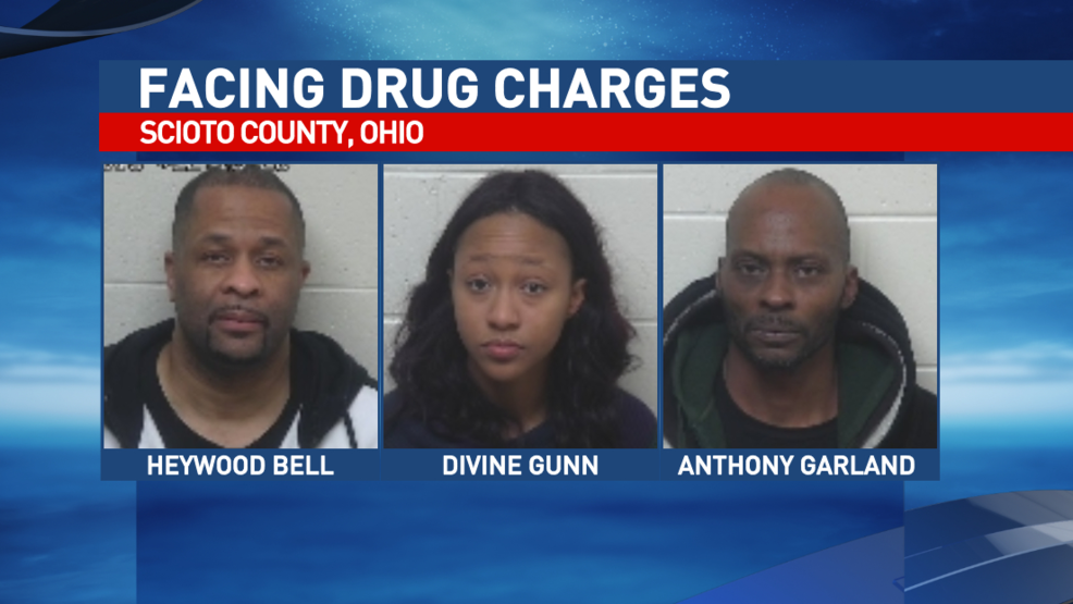 Three people facing charges after pursuit, drug bust in
