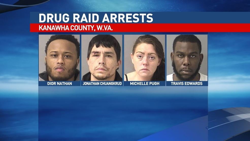 Nearly $200,000 worth of illegal drugs seized in Kanawha