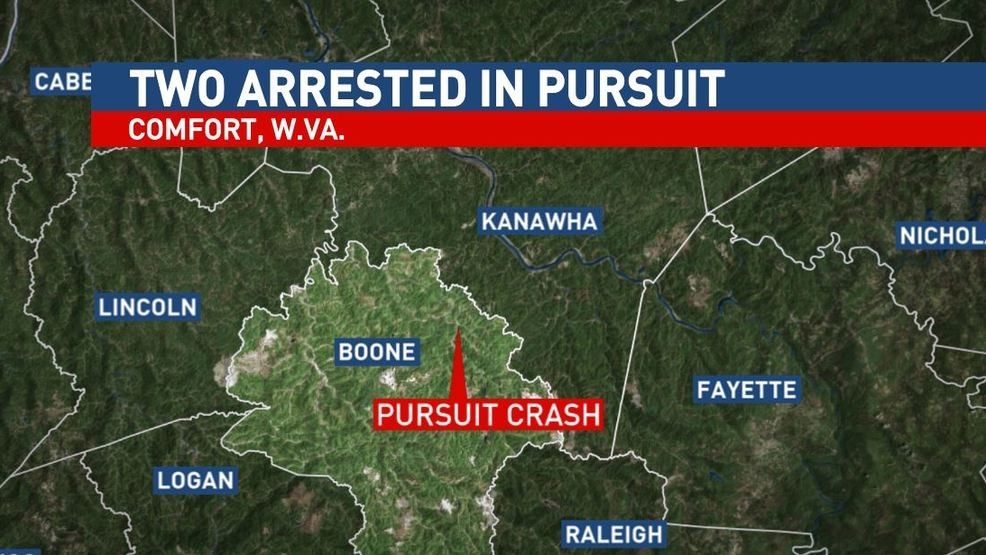 Two arrested following pursuit in Kanawha, Boone counties | WCHS on kanawha trail map virginia, hawks nest state park map, kanawha state park camping, kanawha state forest campground, kanawha state forest cabins, kanawha state forest wv, squak mt map, kanawha county map, chief logan state park map, jefferson national forest map, beech fork state park map, holly river state park map, babcock state park map, kanawha state forest logo, cacapon river wv map, kanawha state forest shooting range, mcclintic wma map, audra state park map,