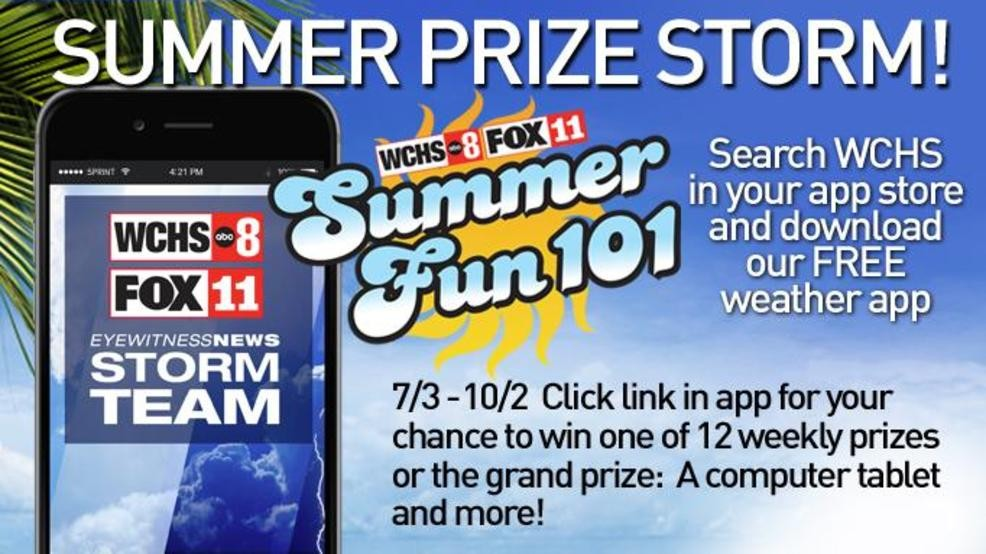 Download WCHS/FOX11 weather app, get shot at prizes | WCHS