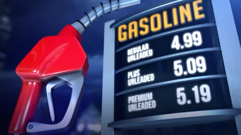 Gas Prices In West Virginia >> Gas Prices 13 Cents Higher Than Last Month In West Virginia
