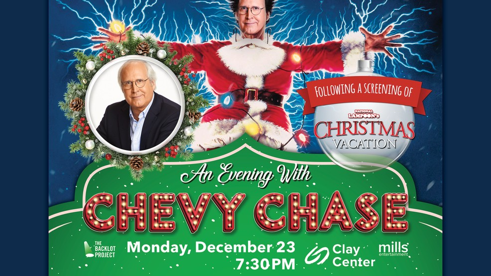 Chevy Chase Christmas Vacation.Christmas Vacation Event With Chevy Chase At Clay Center