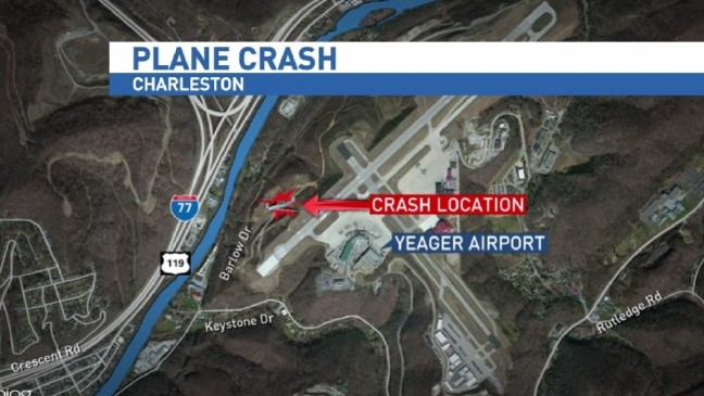 d577389034 Officials: 2 dead in cargo plane crash at Yeager Airport in W.Va. | WCHS