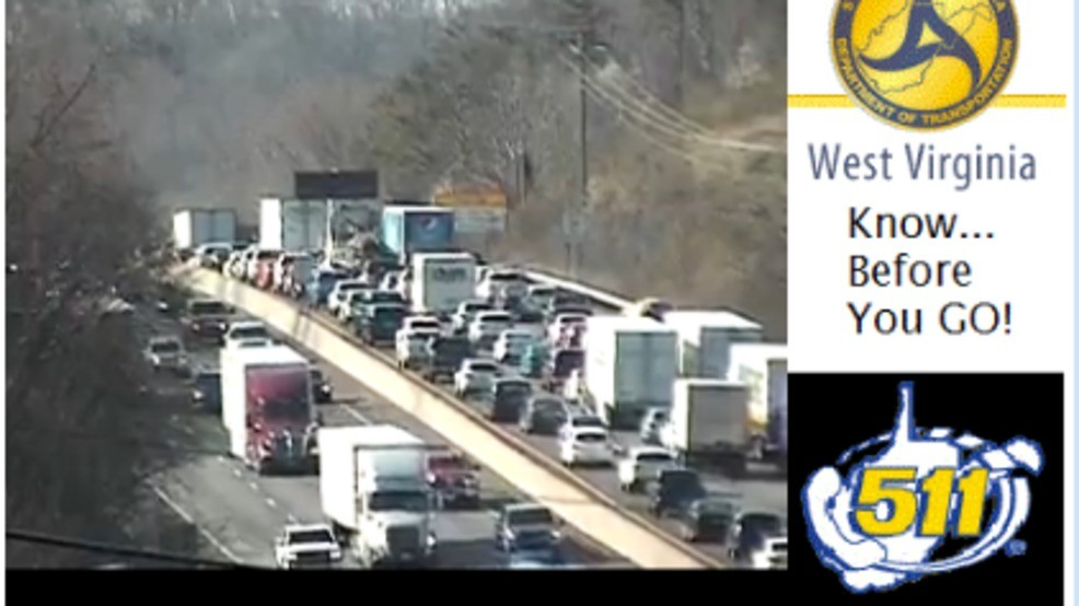 I-64 west reopens after three-vehicle crash in Cross Lanes