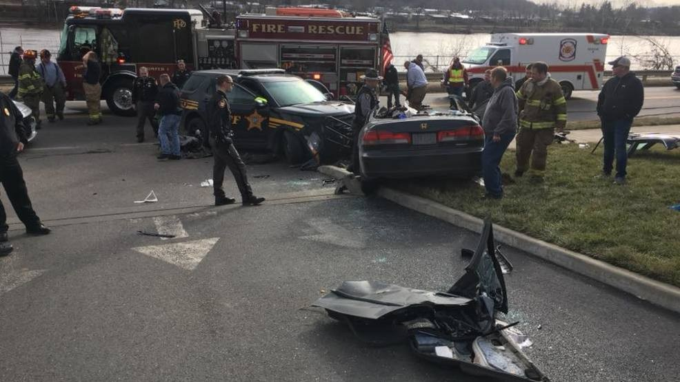 Police Pursuit Ends In Crash In Meigs County Ohio Wchs