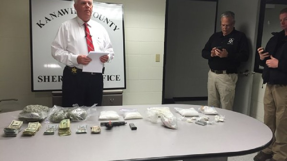 Major Kanawha bust yields nearly $500,000 in drugs, cash   WCHS