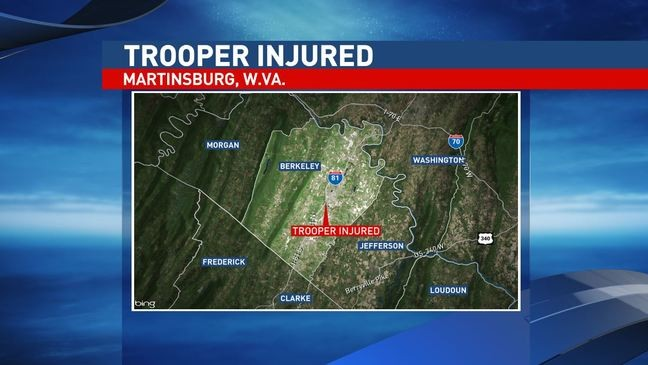 West Virginia State Police requests prayers for injured