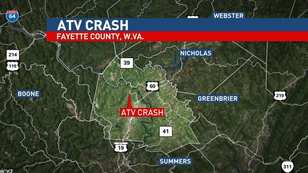 Man airlifted to hospital after ATV crash in Fayette County | WCHS