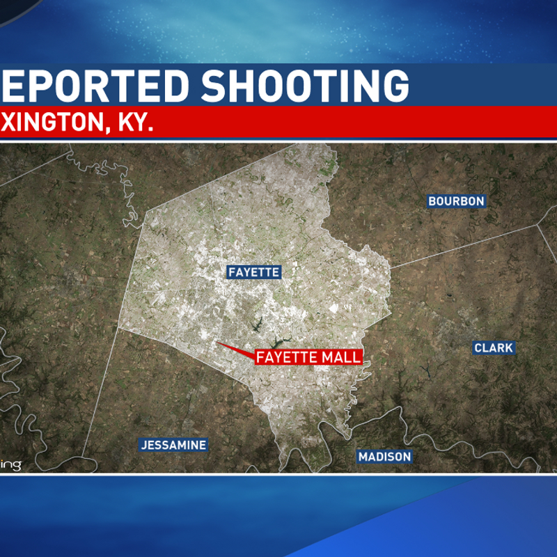 Police: Three injured in shooting at Lexington, Kentucky, mall | WCHS