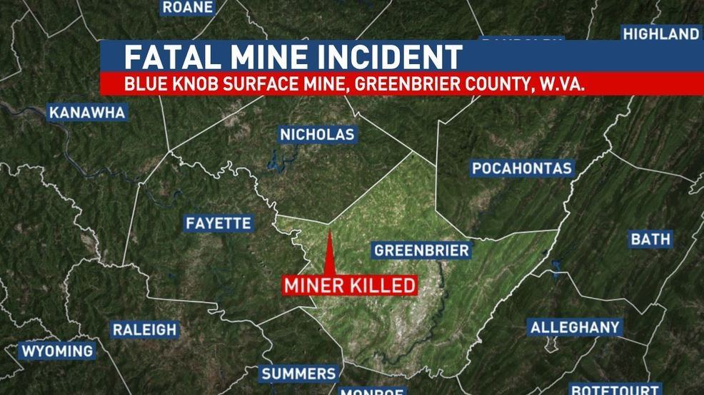 Miner killed in fall in Greenbrier County mine | WCHS