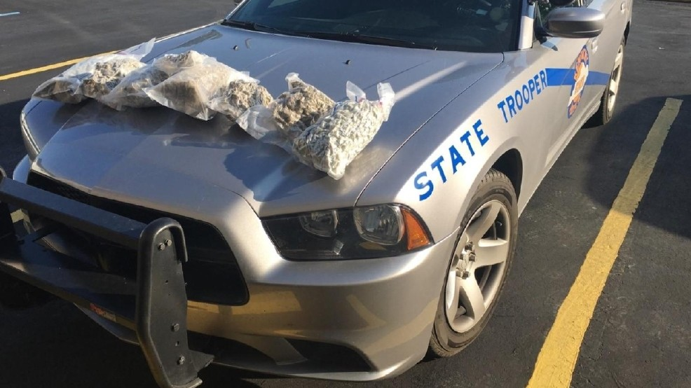 Troopers seize 8 pounds of marijuana in Pike County, KY | WCHS